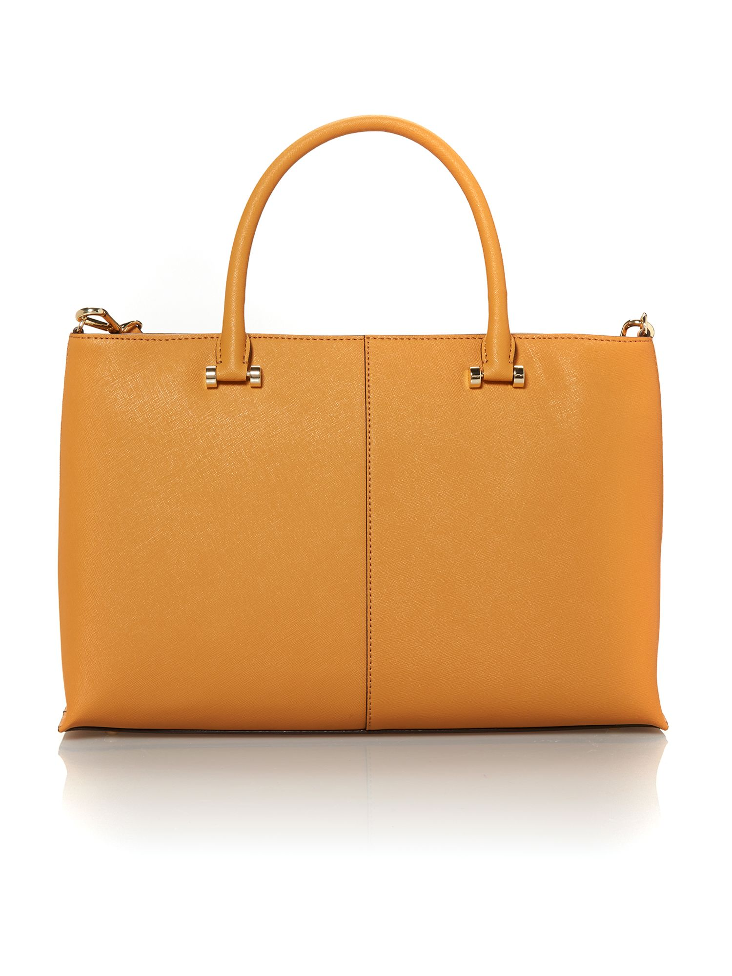 Saffiano tan medium tote bag