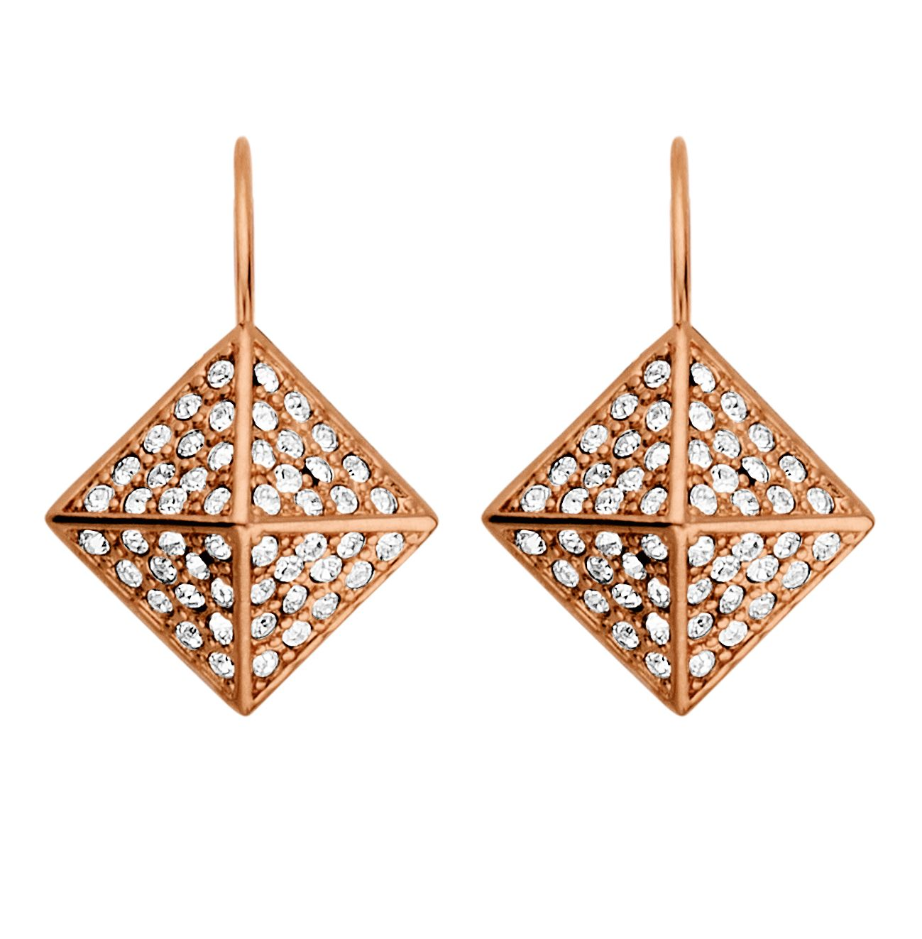 Kalfani rose gold earrings
