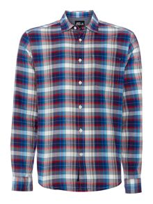 benidict check shirt