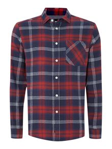 Burt gingham check shirt