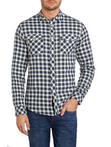 Benjy large scale twill check