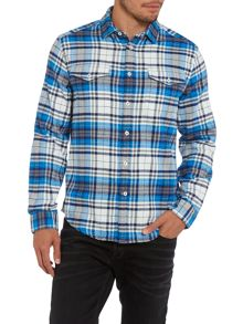 Bernard blue check shirt