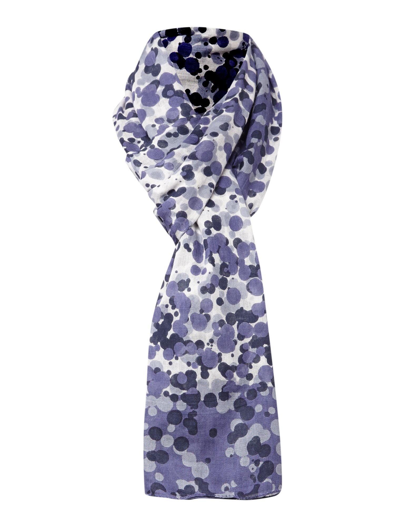 Dots viscose scarf