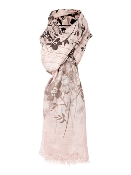 Lola Rose Criss cross field flowers viscose scarf
