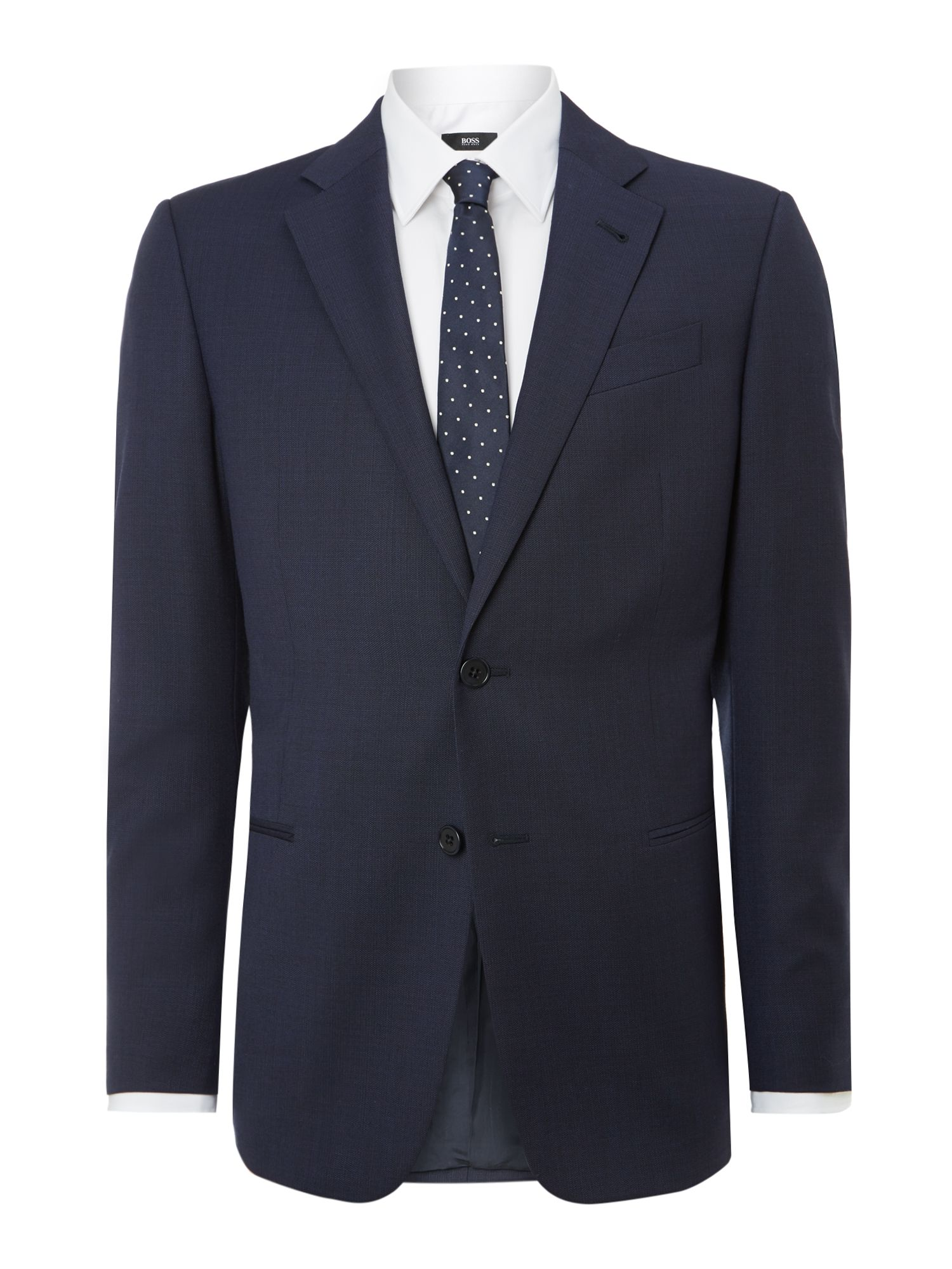Giorgio regular fit textured suit