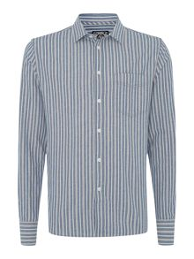 Danby fine stripe long sleeve shirt
