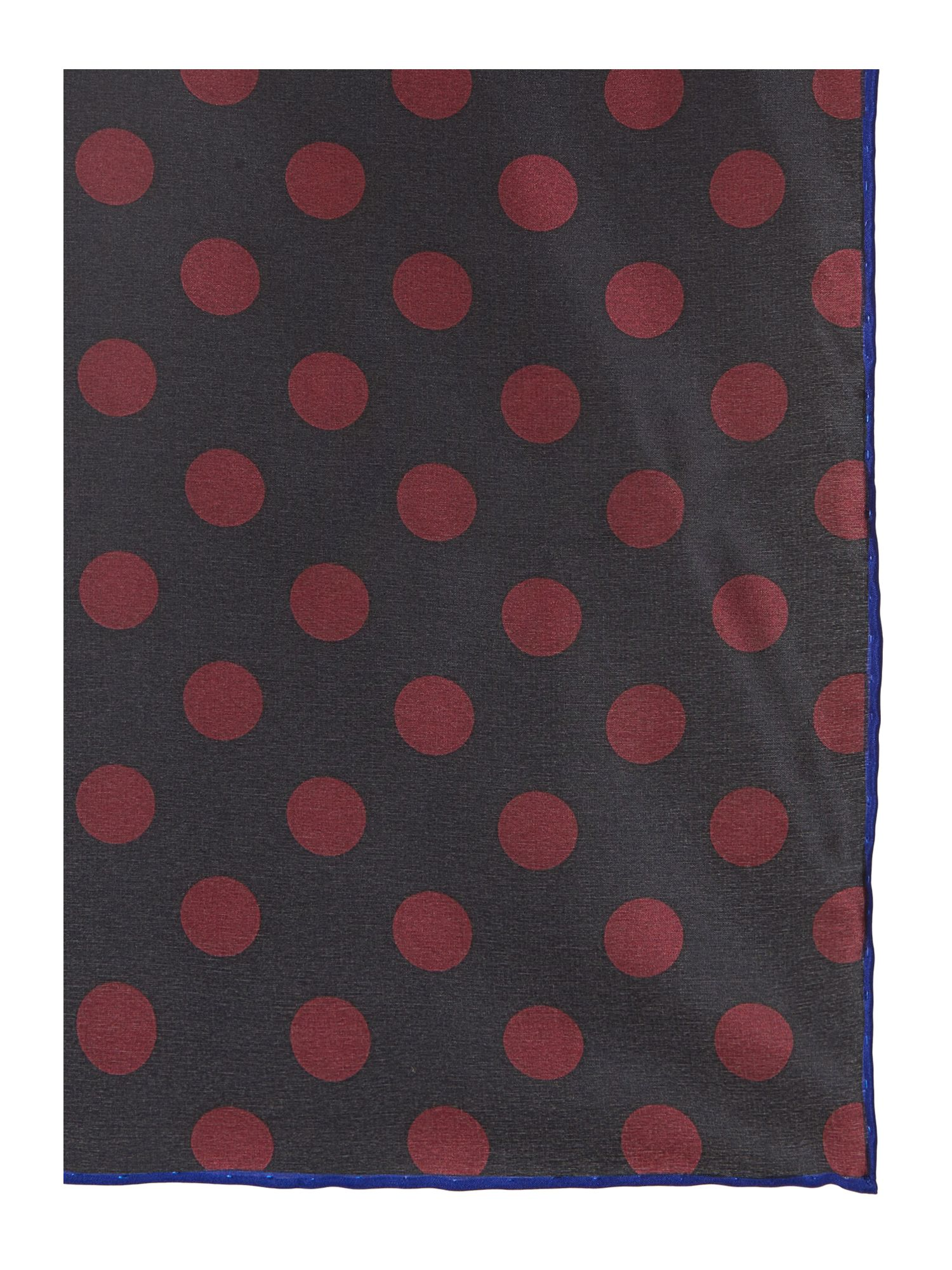 Dots all over silk square