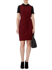 Tuck & Twist Dress Plain