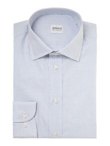 Grid Check Regular Fit Shirt