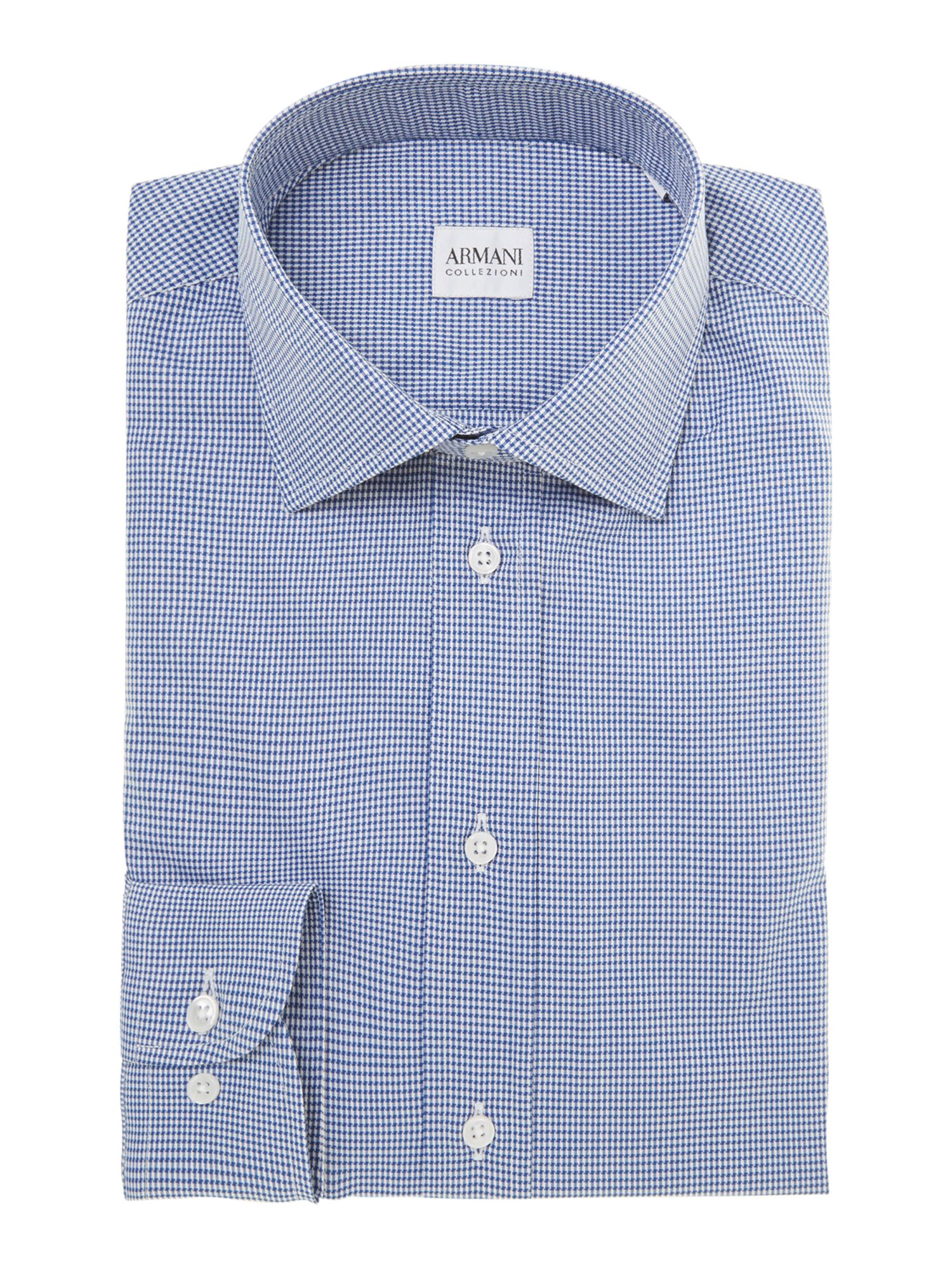 Puppytooth regular fit shirt