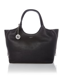 Tribeca soft black large tote