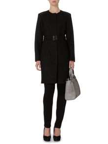 Pied a Terre Collarless coat