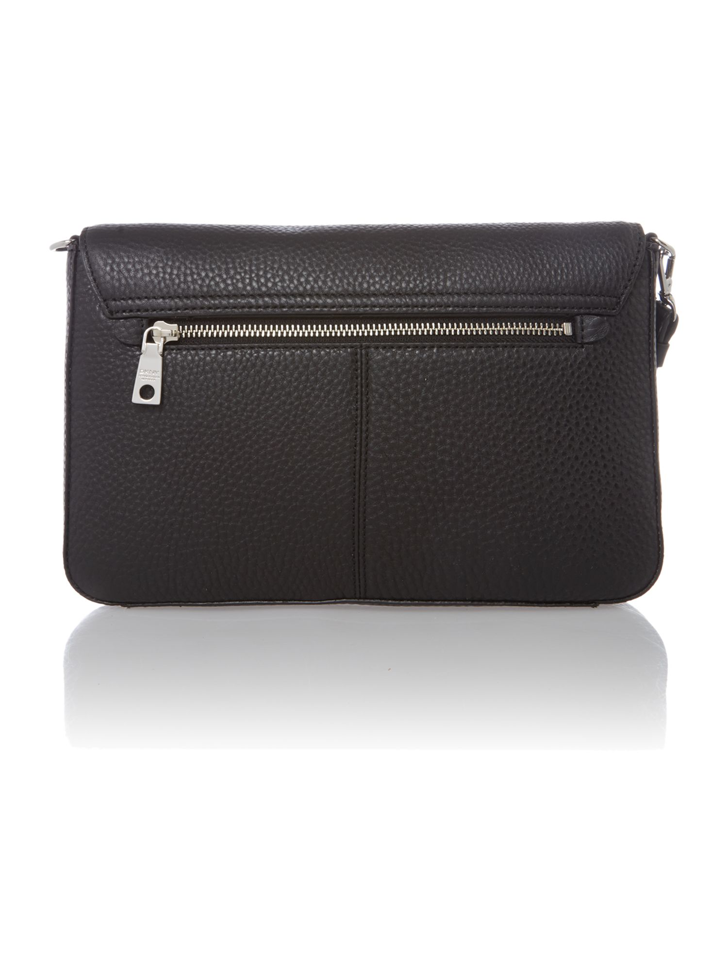 Tribeca soft black cross body bag