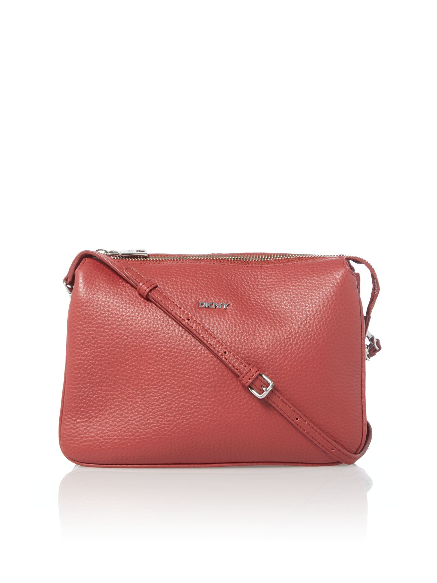 Tribeca soft red cross body bag