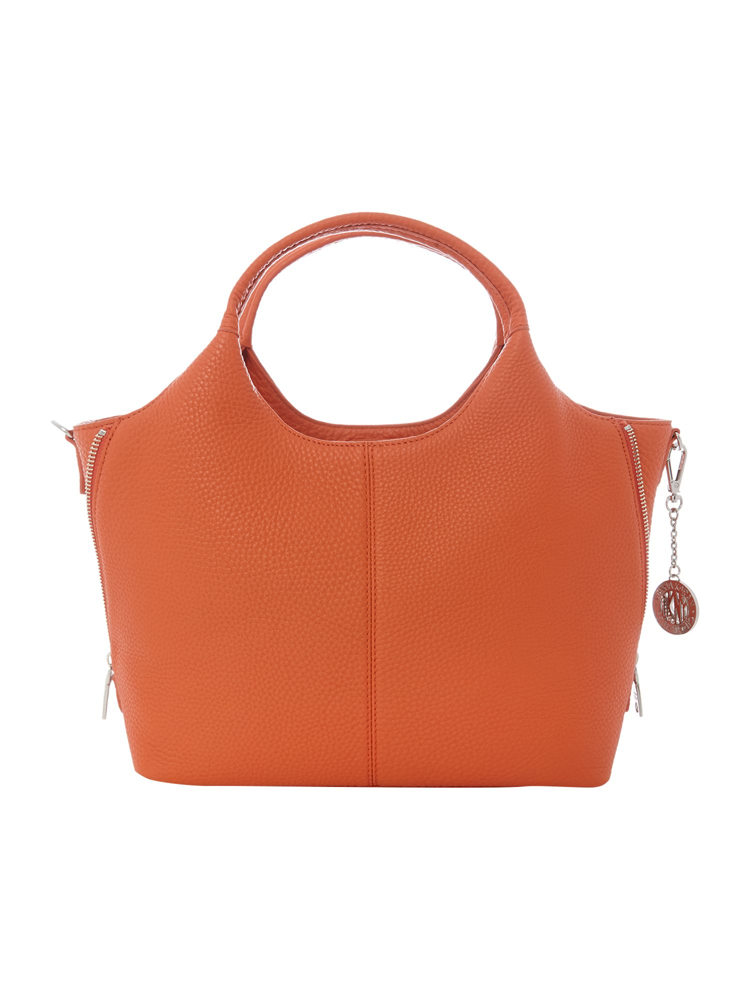 Tribeca soft orange medium tote bag