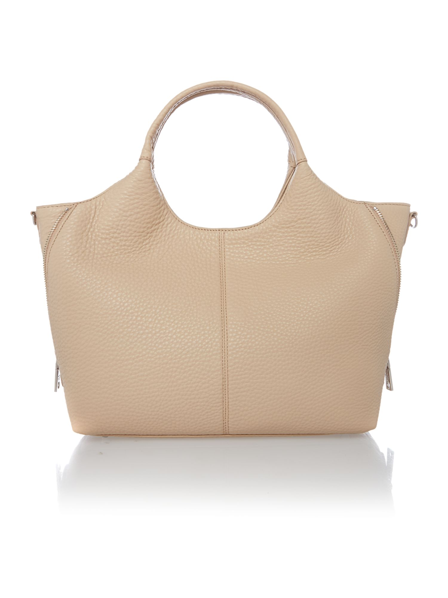 Tribeca soft neutral medium tote bag