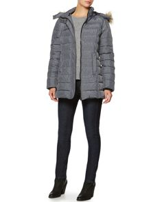 Linea Weekend Strokes Puffer Coat