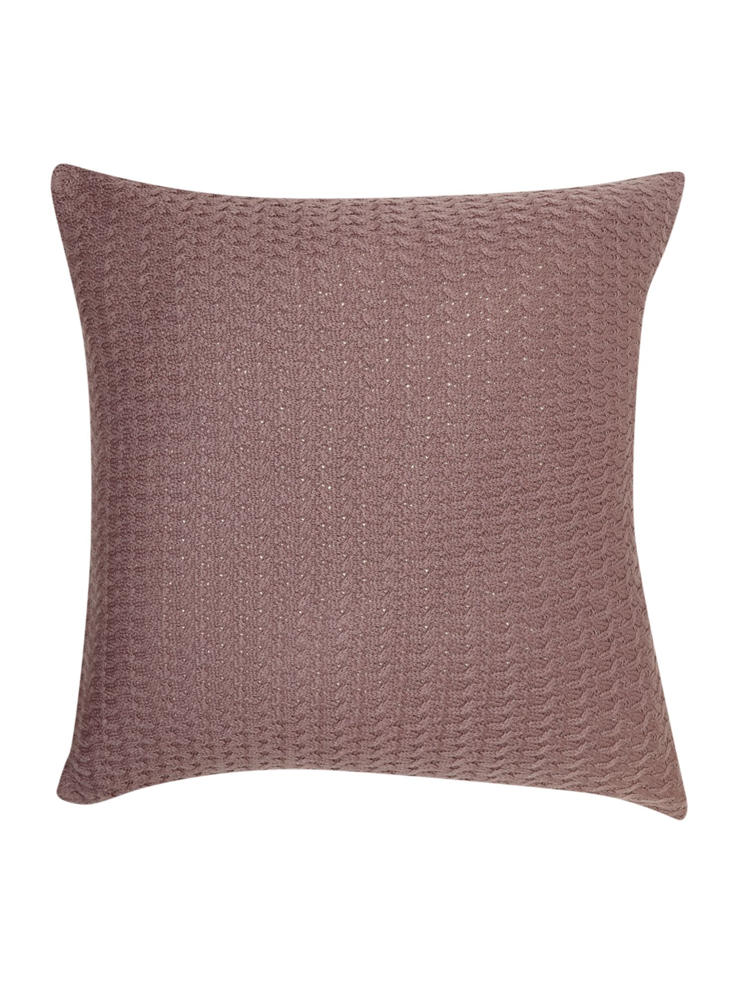 dickins jones d j diamond knit cushion purple. Black Bedroom Furniture Sets. Home Design Ideas