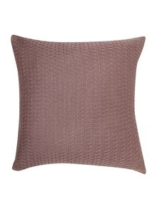 Dickins & Jones D&J diamond knit cushion, purple