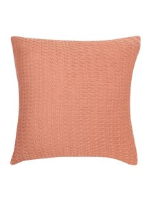 D&J diamond knit cushion, blush