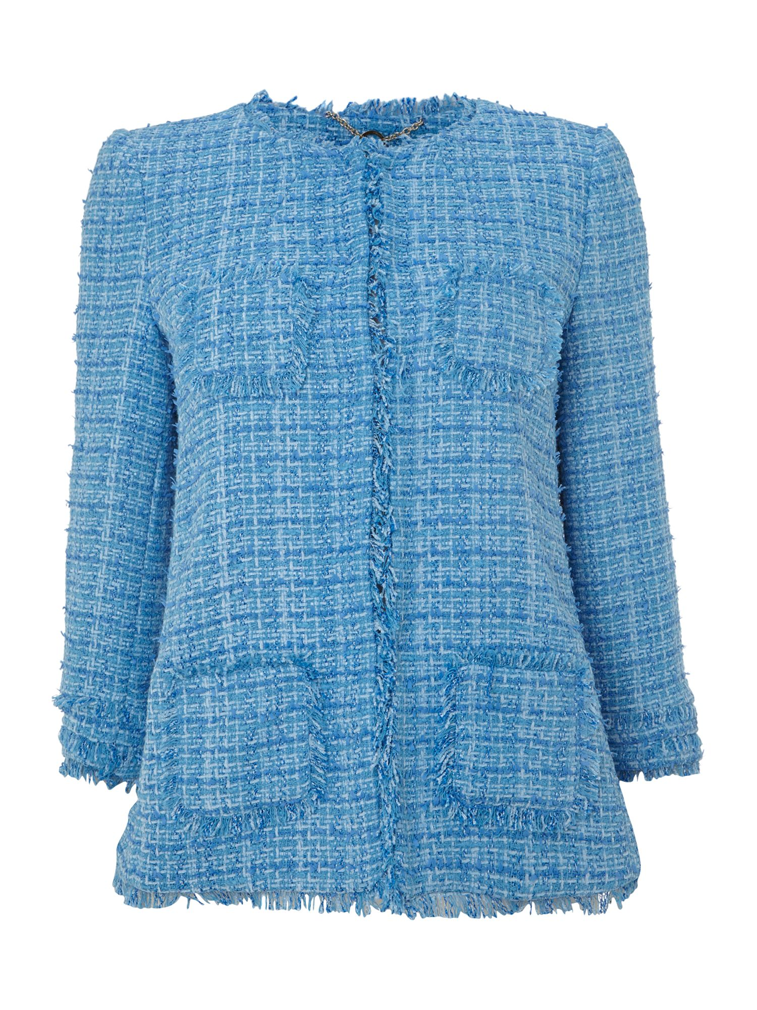 Bautta long sleeved boucle jacket
