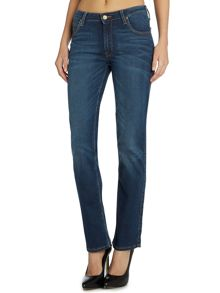 Lee Marion straight jeans in velvet aged