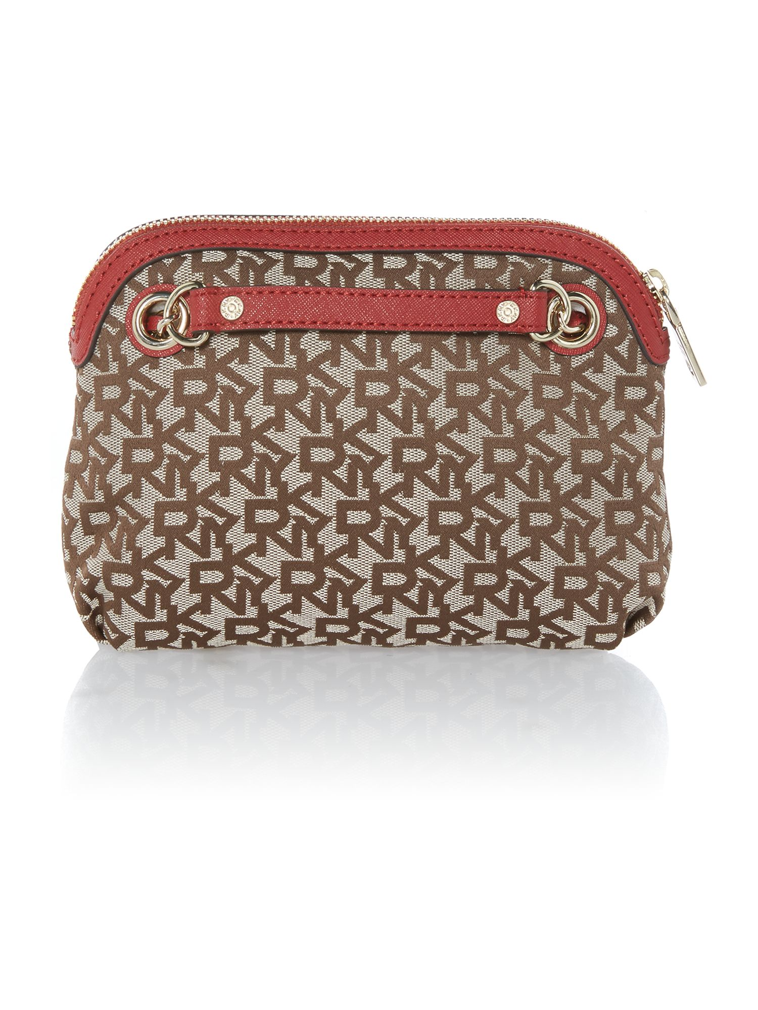 Saffiano red small crossbody bag