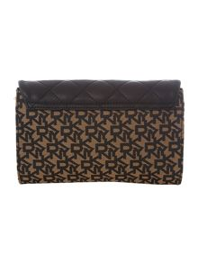 Quilted Nappa black small cross body bag
