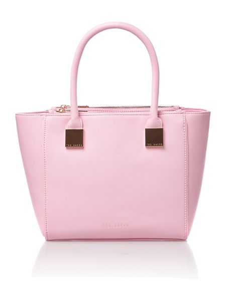 Ted Baker Pink mini saffiano tote bag