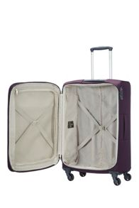 Samsonite Base Hits purple 4 wheel 66cm spinner