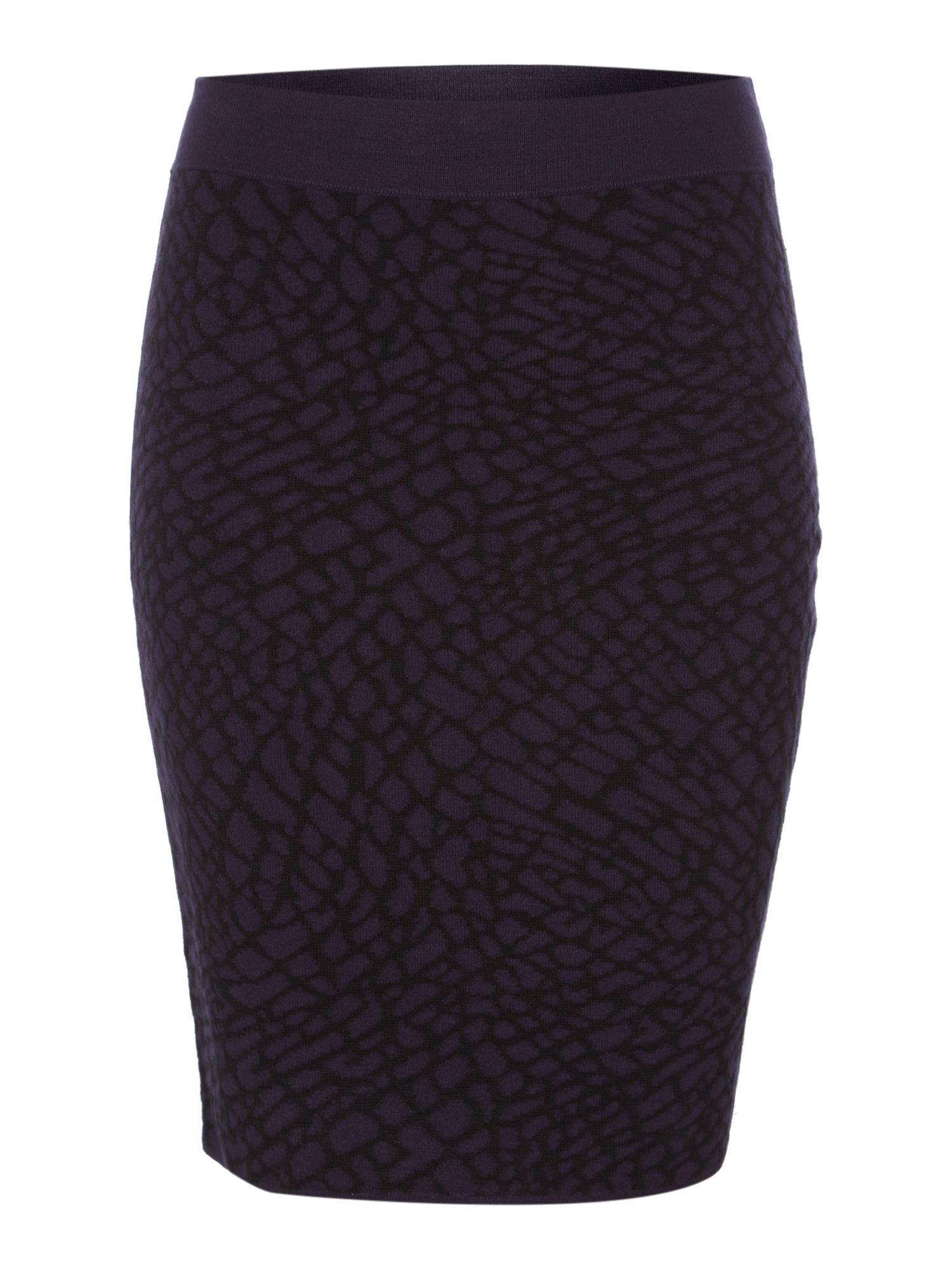 Knitted Jacquard Skirt