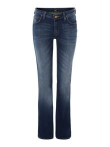 Lee Marion bootcut jean in blue stone