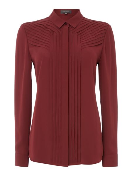Pied a Terre Pleated shirt