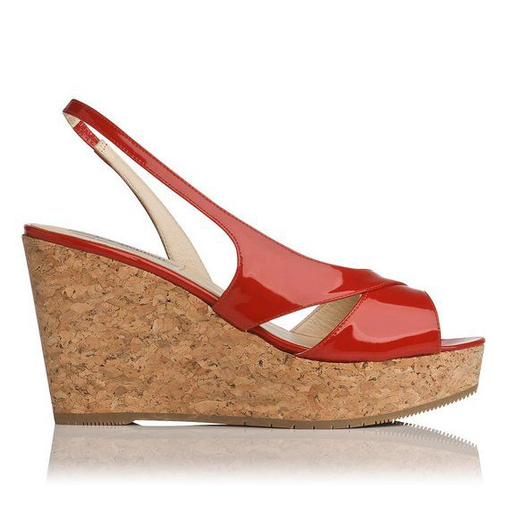 Adelia asymmetric cork sandals