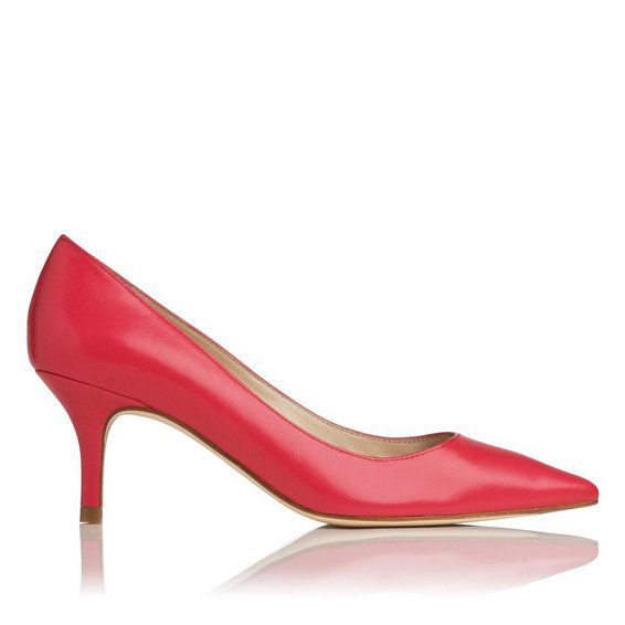 Florisa single sole point court shoes