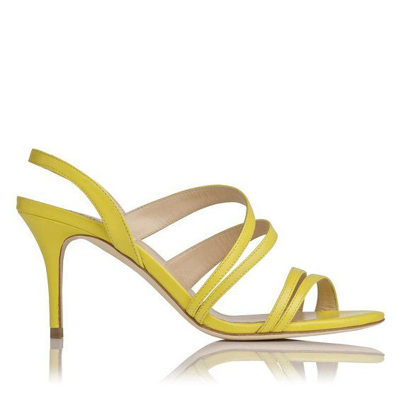Addie single sole mid heel strappy sandals