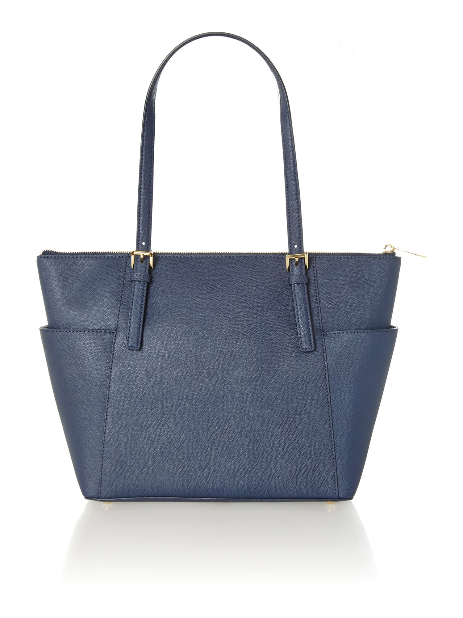 Jet set item navy small tote bag