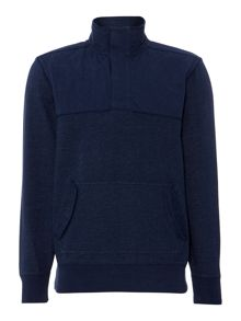 Army & Navy Sid mixed media pullover