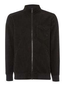 Howard full zip fleece track top