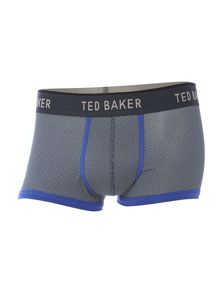 Geo print underwear trunk and boxer in gift box