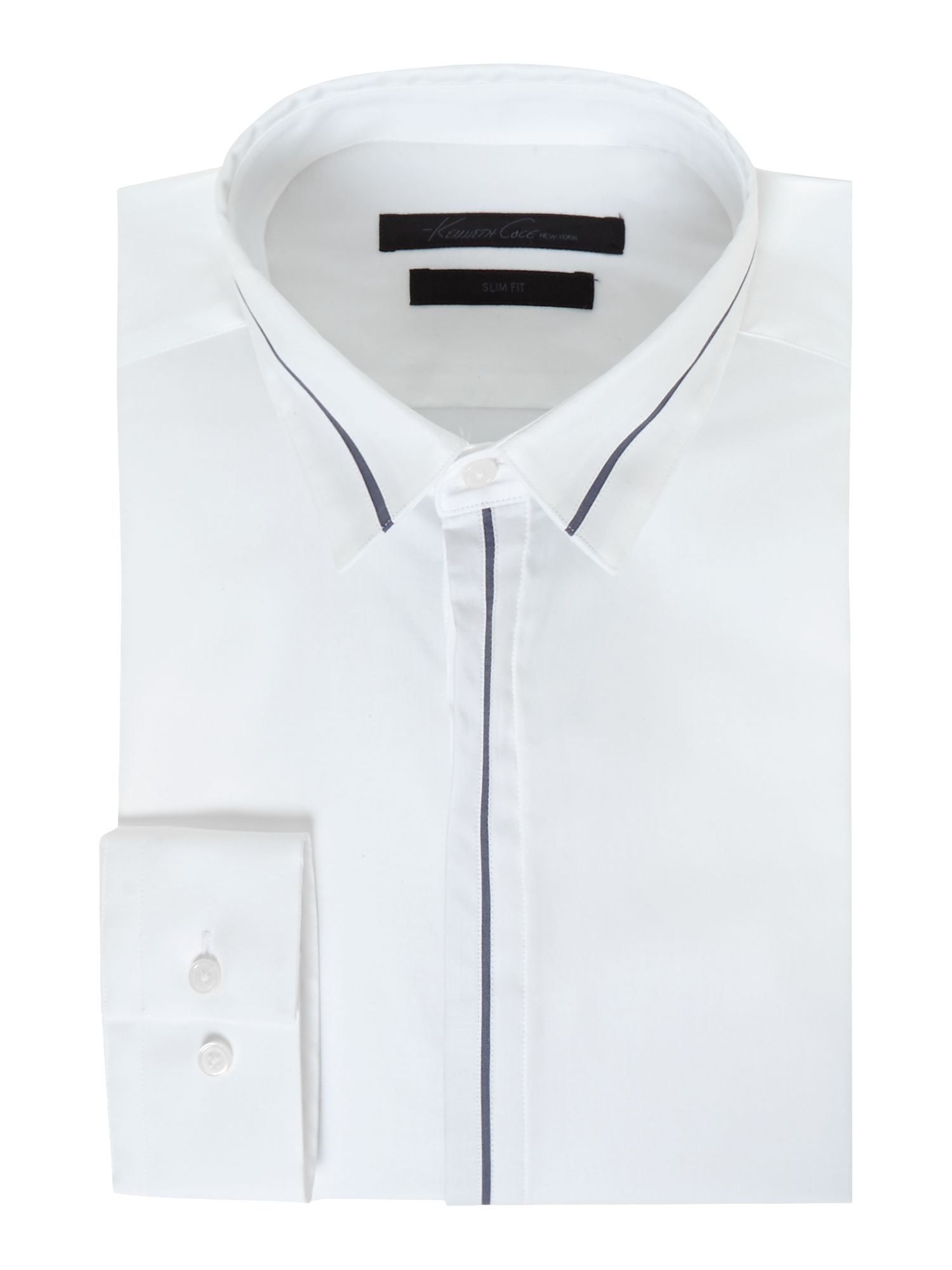 Clifford contrast collar and cuff detail shirt