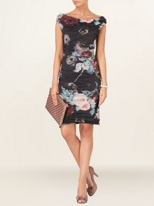 Orla printed crush dress