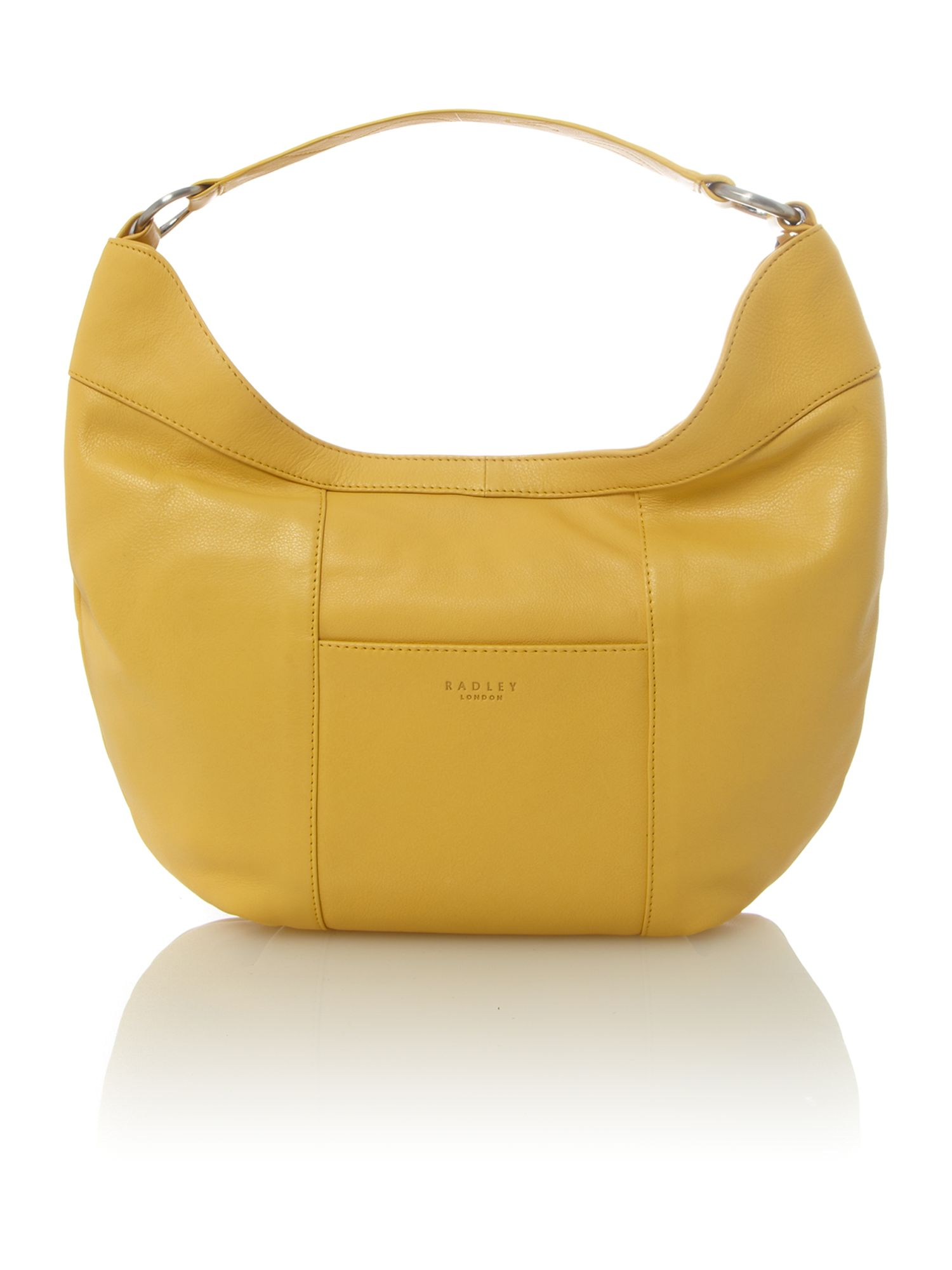 Johnston yellow medium scoop shoulder bag