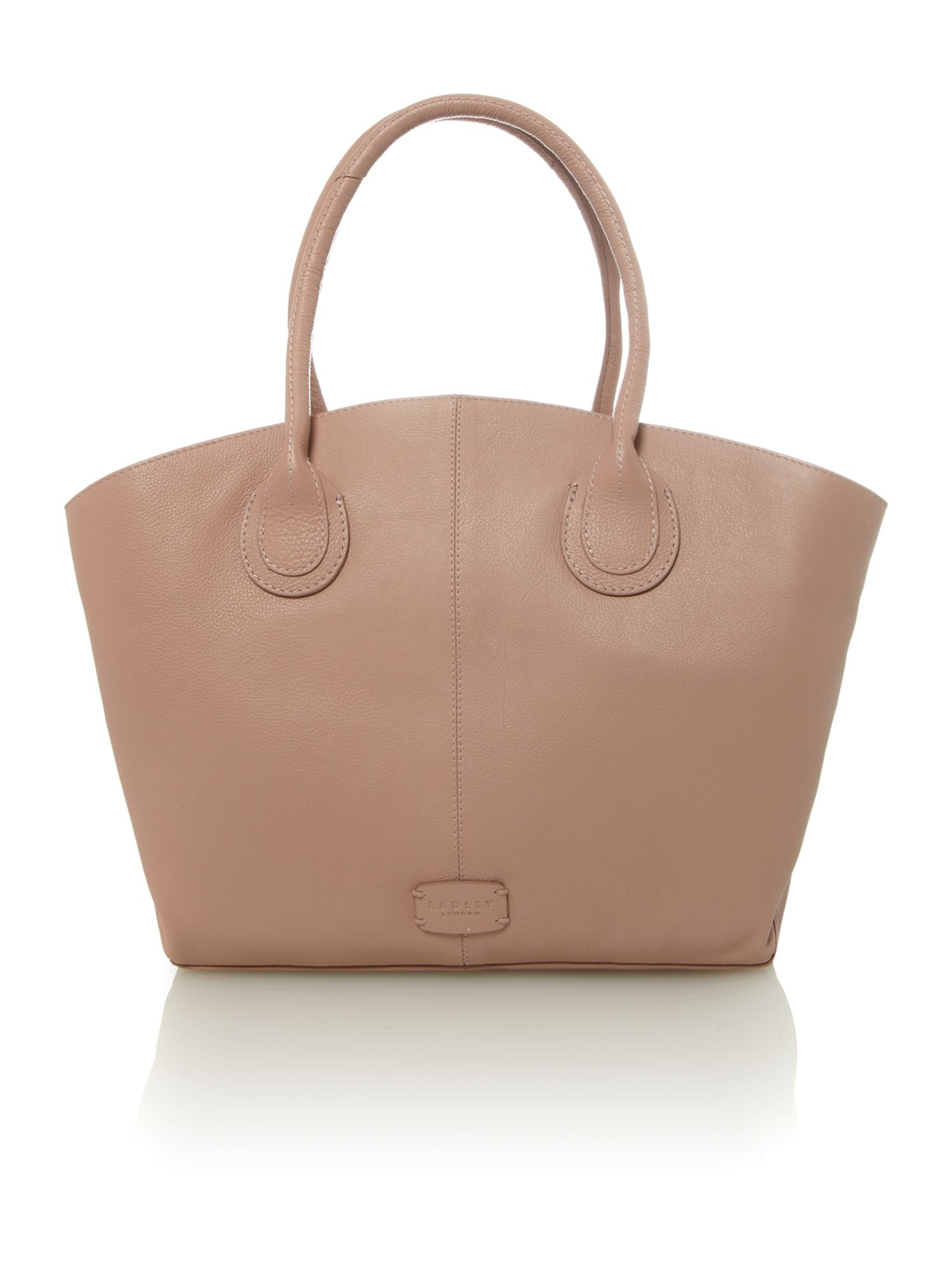 Overton pale pink large tote bag