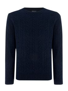 Howick Andover Cable Crew Neck