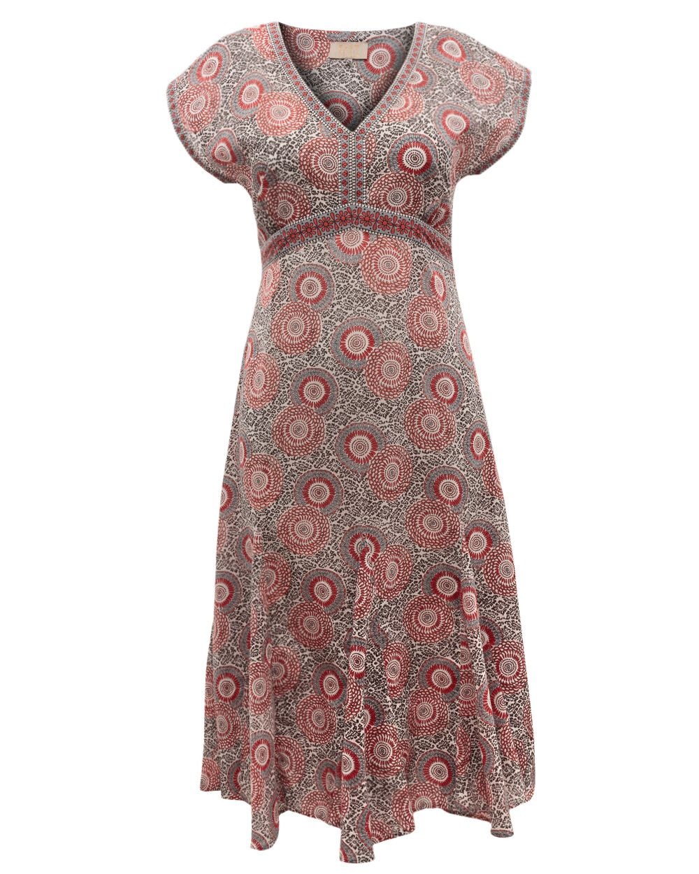 Anokhi ido print dress
