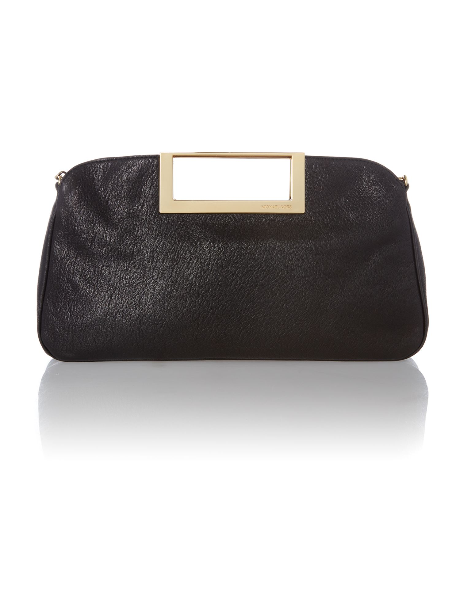Berkley black clutch bag