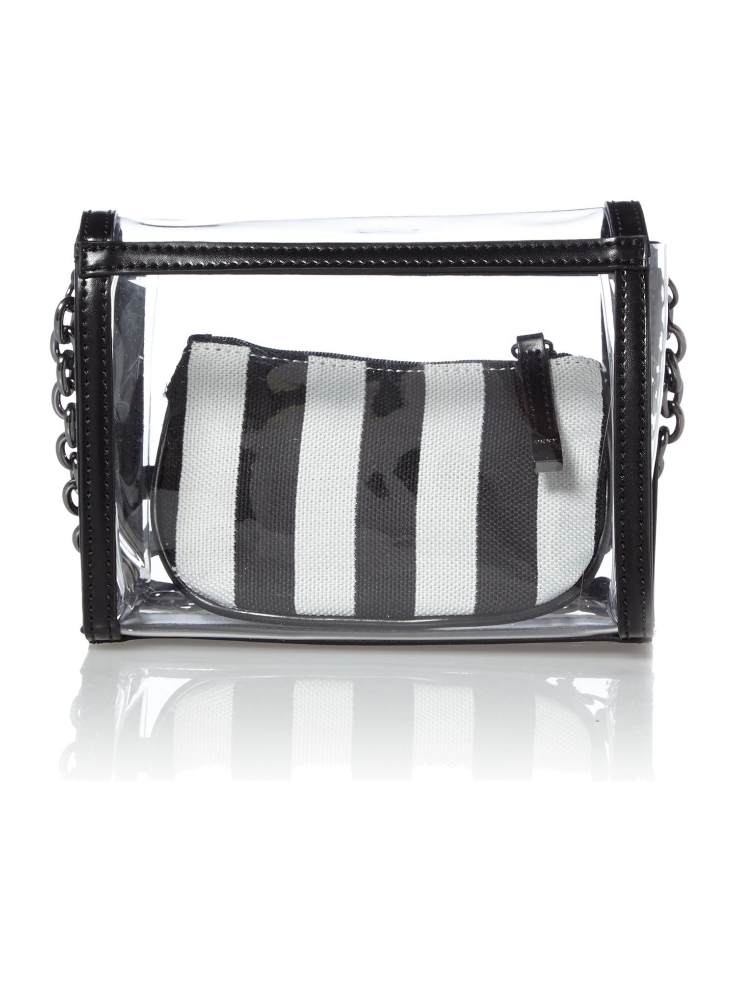 Beach monochrome mini crossbody