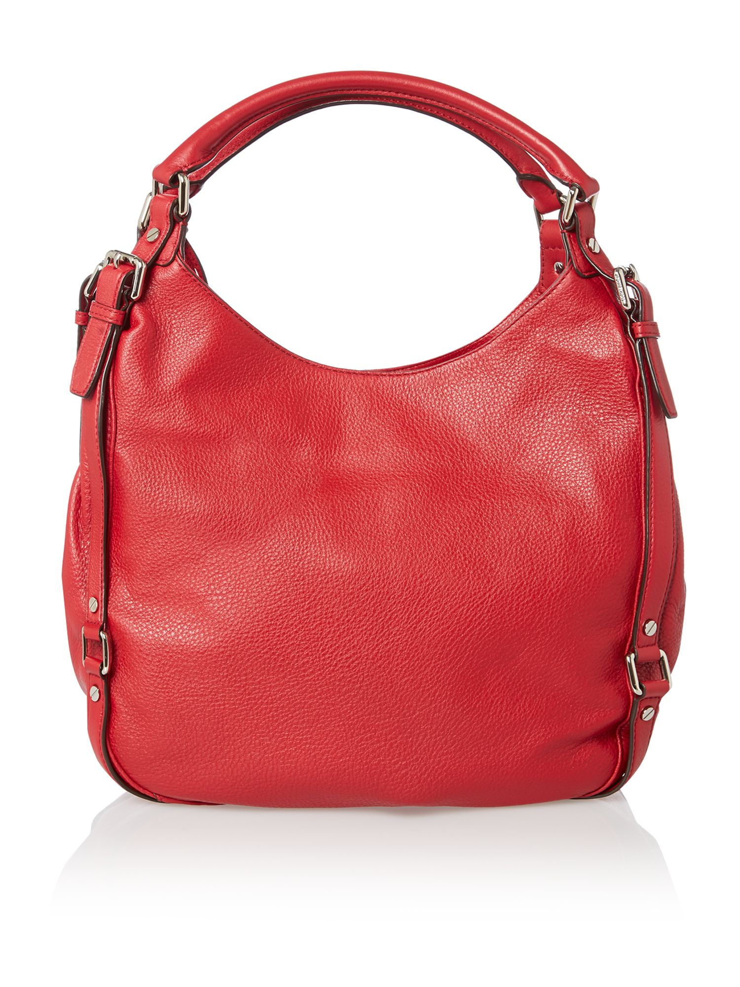 Bedford red hobo bag