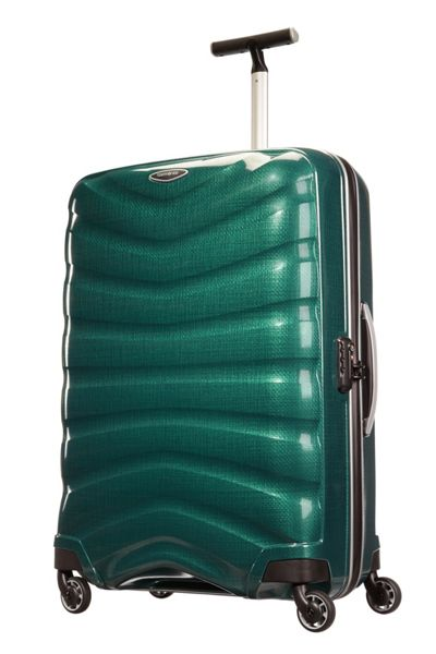 Samsonite Firelite racing green 4 wheel 75cm spinner